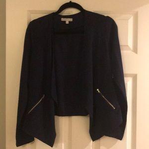 Moa Moa navy open front blazer